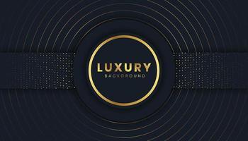 Fundo de luxo com brilhos dourados vetor
