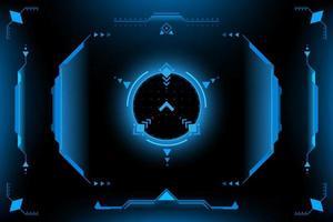 Painel HUD VR Interface do usuário