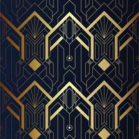 Padrão geométrico de luxo moderno vetor
