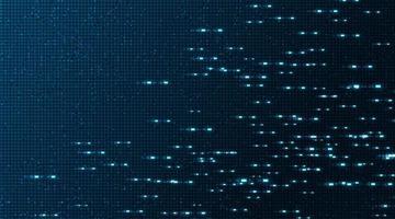 Fundo de tecnologia de circuito eletrônico de luz de velocidade. vetor
