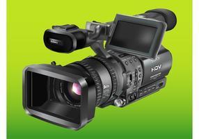 Camera sony vetor