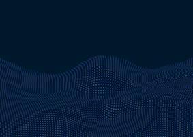 Techno dots paisagem design vetor