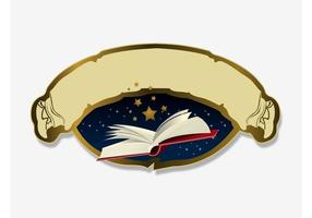 Logotipo de leitura vetor
