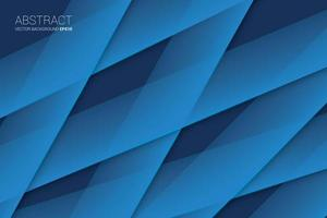 Abstrato grosso Criss Cross Strip fundo com cor azul vetor