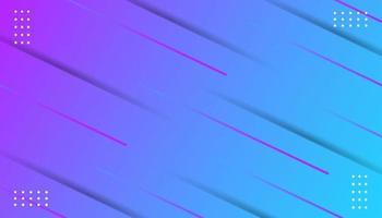 Linha moderna gradiente e fundo de pontos vetor