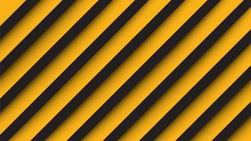 Estilo de papel fundo amarelo e preto vetor