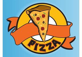 logotipo de pizza