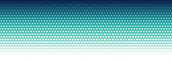 Projeto de banner padrão abstrato colorido meio-tom vetor