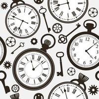 Face do relógio de fundo vetor