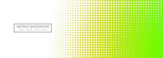 Fundo de banner colorido abstrato de meio-tom vetor