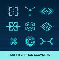 Elementos da interface Hud
