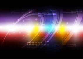 Fundo brilhante abstrato multicolorido vetor
