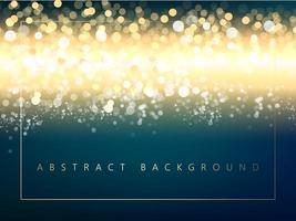 Luzes brilhantes sobre fundo gradiente vetor