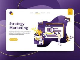 Landing page Estratégia de Marketing