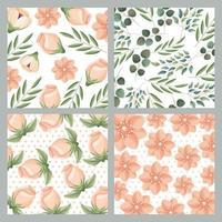 cartão de casamento flor