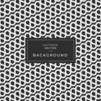 Fundo com traços artísticos no estilo de onda preto e branco vetor