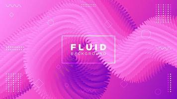 Movimento moderno fluido spikey fundo rosa vetor