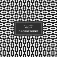 abstrato sem costura preto padrão geométrico vetor