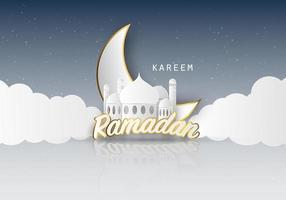 fundo do ramadan kareem