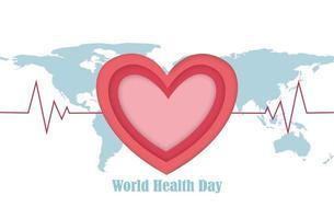 cartaz do dia mundial da saúde