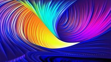 projeto abstrato do canyon do arco-íris