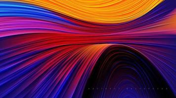projeto colorido abstrato do canyon