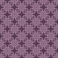 malva e luz roxa padrão geométrico vetor