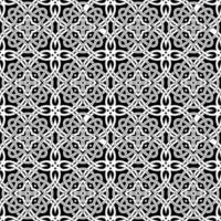 padrão preto e branco geométrico