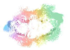 fundo manchado pintado colorido