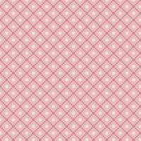 padrão tradicional rosa fair isle vetor