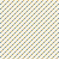 padrão de formas de diamante pequeno azul e amarelo vetor