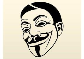 Símbolo anônimo vetor