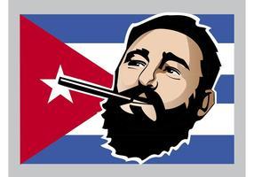 Fidel Castro vetor