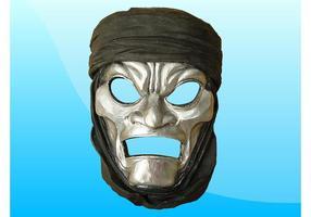 Máscara de imortais vetor