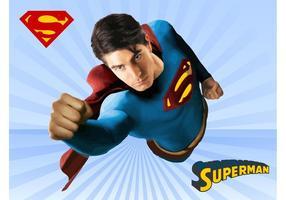 Vetor de super-homem