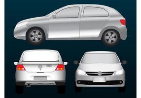 Carro Volkswagen vetor