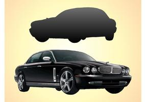 carro jaguar vetor