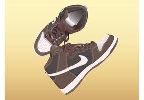 Sapatos da Nike vetor