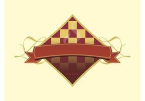 Logotipo de xadrez vetor