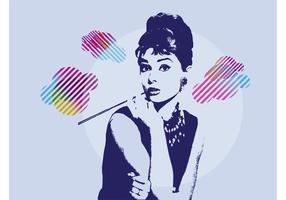 Audrey Hepburn vetor