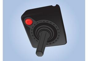 controlador de atari vetor