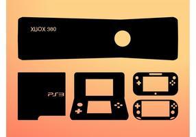 Designs de jogos vetor