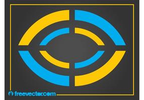 Logotipo Geométrico Abstrato vetor