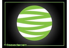 Logo Design Círculo vetor