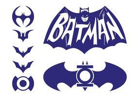 Pacote Logos Batman vetor