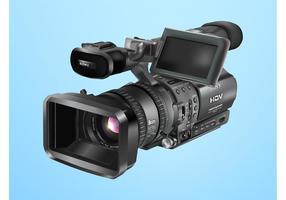 Câmera de vídeo vetor