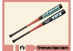 Gráficos baseball bats vetor