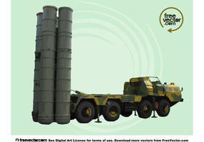 Vetor de tanque militar