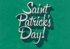 Vetor retro do dia de St. Patrick