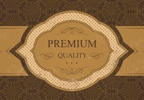 Fundo Premium Vintage Vector de Qualidade